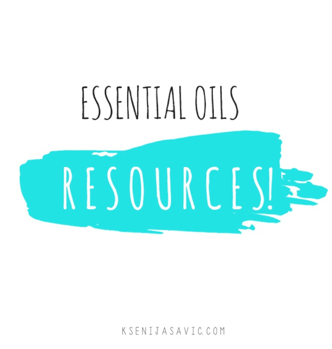essential oils resources