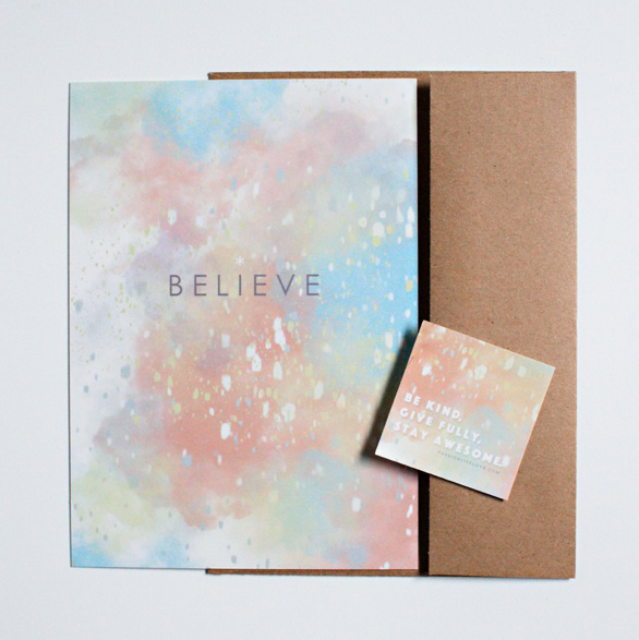CARE CARDS // THE BELIEVE PACK