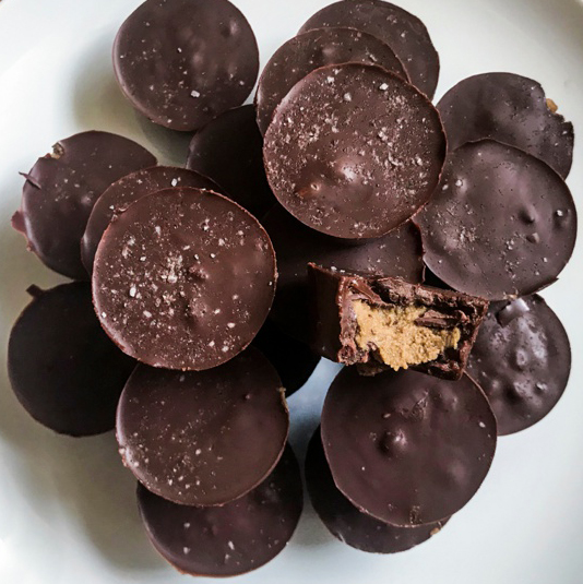 ORGANIC ALMOND BUTTER CUPS