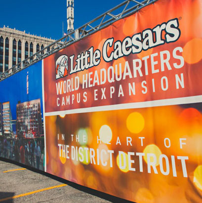 Little Caesars HQ Groundbreaking